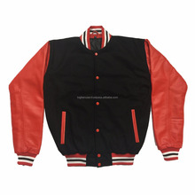 OEM custom printed wholesale factory price letterman bomber jackets jacket for importers, wholesalers, distributors