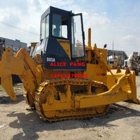 Heavy equipment 10%OFF used komatsu D85-18,D85-21,D155A tractor bulldozer with ripper
