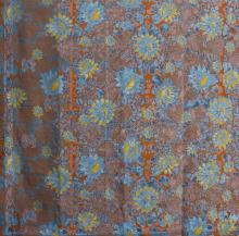 100% Cotton Fabric Batik Floral Design