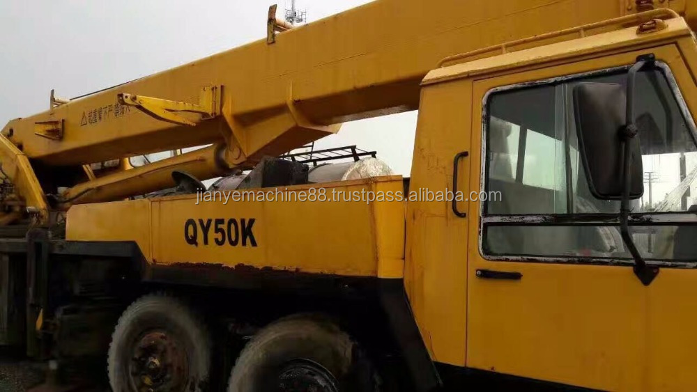 50 tonnes grue mobile/xcmg qy50k camion grue