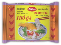 Pack Rice Instant Noodle with CHICKEN 65G