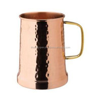 Pure Copper Hammered Tankards, Copper Drinking Mugs and Hammered Tankards, Moscow Mule Copper Beer Mugs