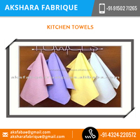 Exotic Looking eco-Friendly Material Made Kitchen Towels Available from Leading Supplier