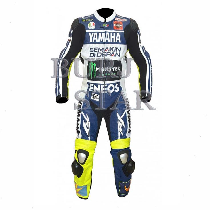 Top Quality Cow Hide Motorbike Racing Leather Suit , Full Safety Motorcycle Suit