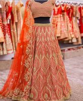 Traditional wedding bridal lehenga choli designs