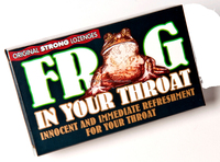 FROG IN YOUR THROAT-cough lozenges