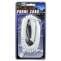 Coiled Telephone Cord Assorted Colors