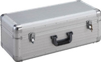 TRUSCO large aluminum tool box in-640X260XH230 silver