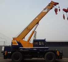 Kobelco 45 Tons Rough Terrain Crane