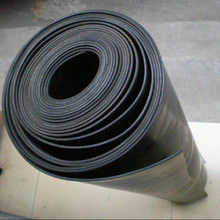Black SBR Styrene Butadiene Rubber Sheet Roll