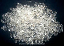 Clear Quartz Stone Chips for landscaping