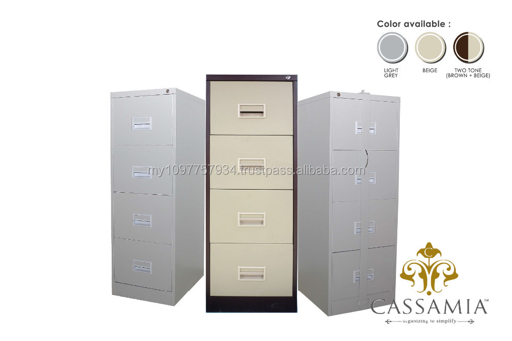 4 Drawers Filing Cabinet