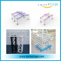 outdoor concert roof truss with cover for sale with best price