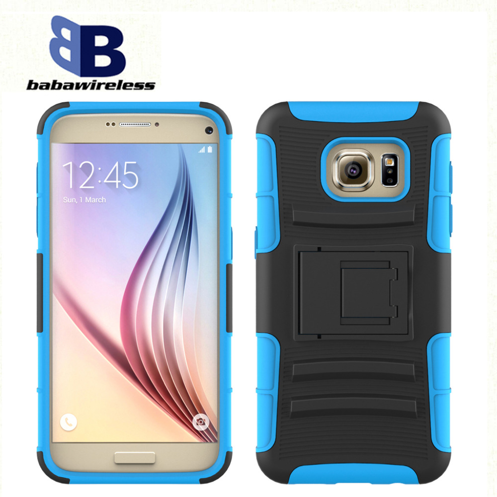 New Hybrid PC Silicone Robot Case 3 in 1 Combo Hard Back Cover For most smartphones