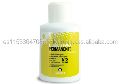 perm liquid n2 for soft and color treated hair