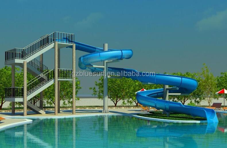 Fiberglass swimming pool water slides for sale commercial - Used swimming pool slides for sale ...