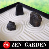 Free customise and Easy to use Miniature Zen Garden with real granit made in Japan