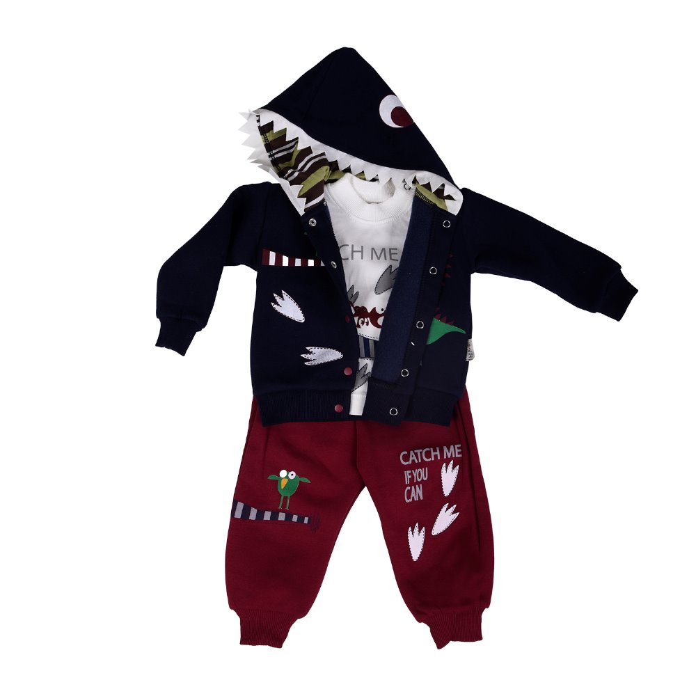3 pieces sets for children coat, shirt and pants