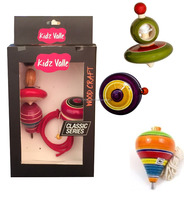 Kidz Valle Assorted Toys Wing Top, Rope Top, Yo-Yo