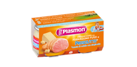 Plasmon Homogenized Dairy With Prosciutto 80gx2 Pieces