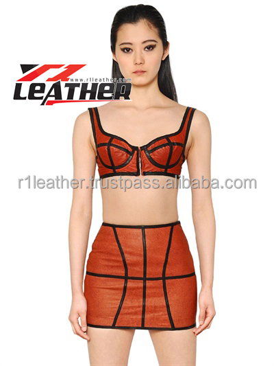 leather garment manufacturer fashion ladies wholesale custom leather garment