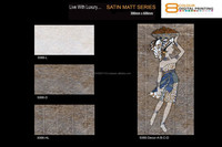 factory price building material ceramics glazed kitchen wall tiles 5066D