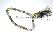 Wholesale Black Rutile 33 Beads Tasbih