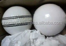 High Quality White Leather Cricket Ball