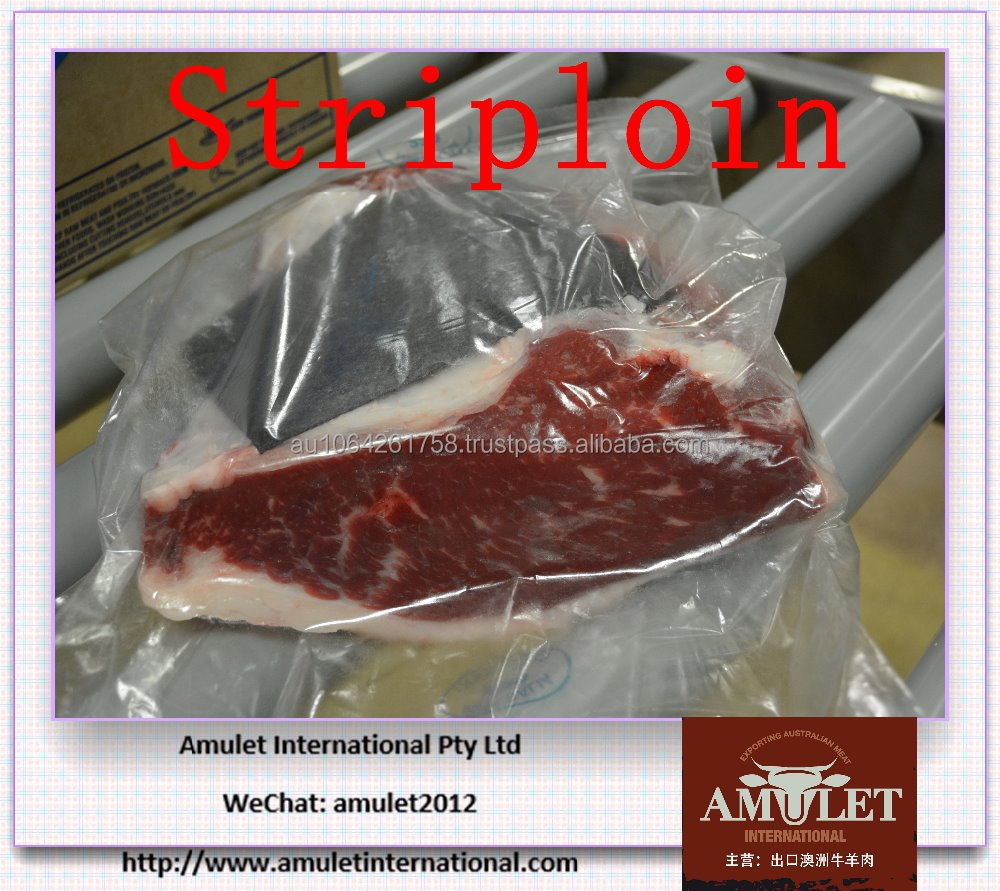 Australian Halal Chilled or Frozen MB6 Striploin Wagyu Beef