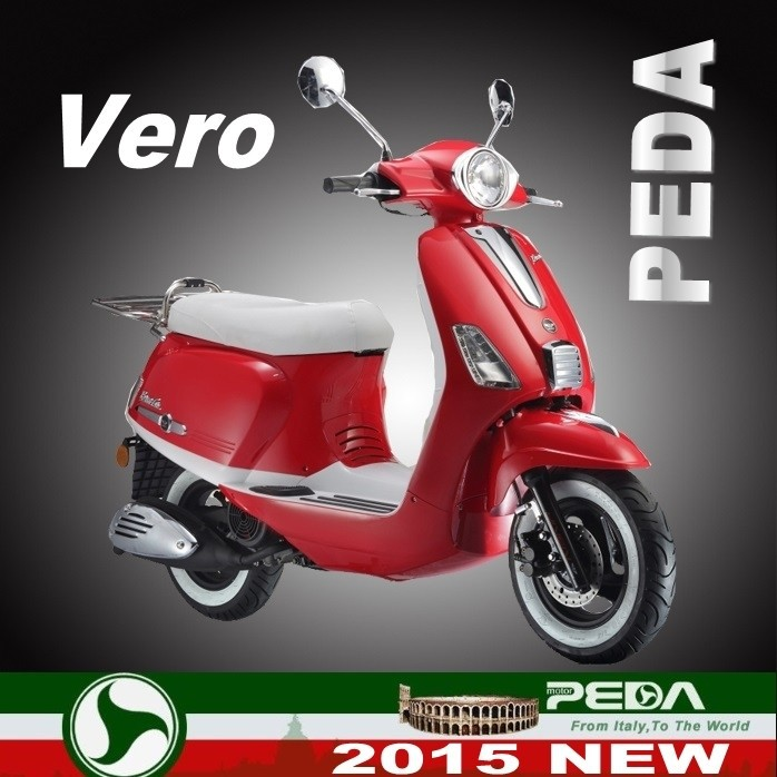 (Vero) 2016 NEW RETRO scooter 50cc 125cc 4 stroke EEC COC Italian design EXCLUSIVE (PEDA MOTOR)