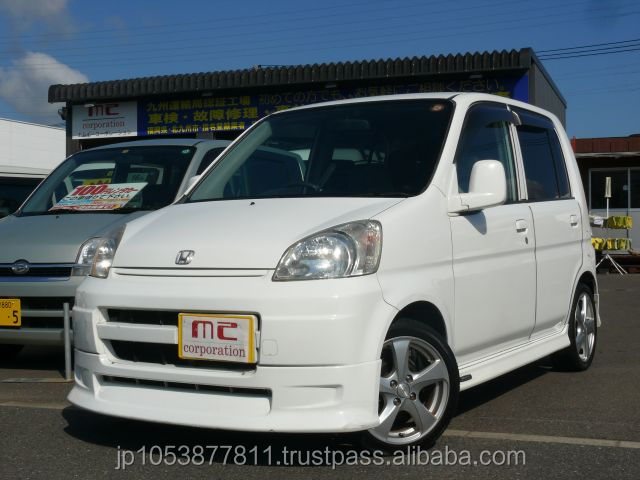 Popular and Right hand drive honda jp LIFE G 2002 used car with Good Condition made in Japan