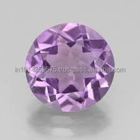Wholesale Prices Small Size Round Cut Amethyst Corundum Gemstone