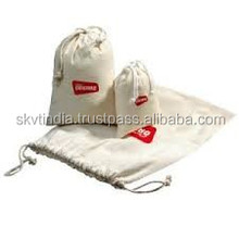 gift give away promotional cotton pouch bag