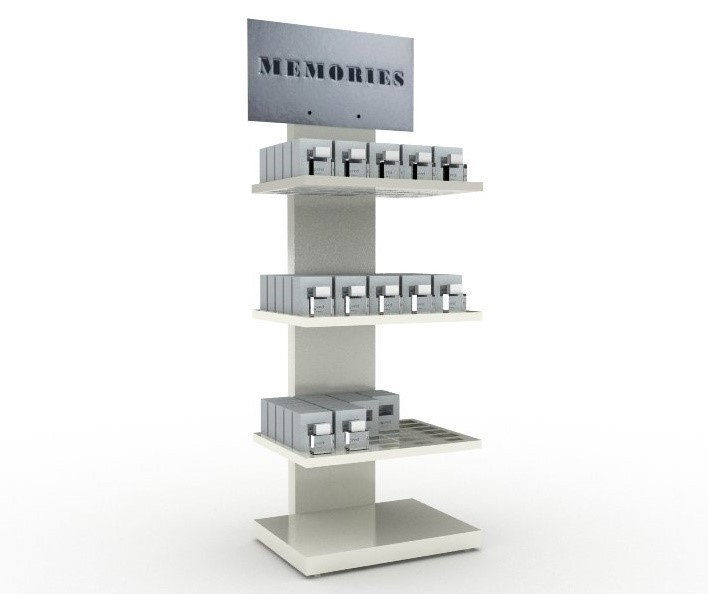 Metal Display Stand For Perfume