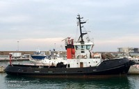 Conventional tug boat 34 t bollard pull 2070 hp for sale