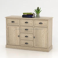 Cassandra 2 doors 6 drawers Sideboard