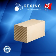 Loose Cordierite Honeycomb ceramic Heat sink media for RTO RCO