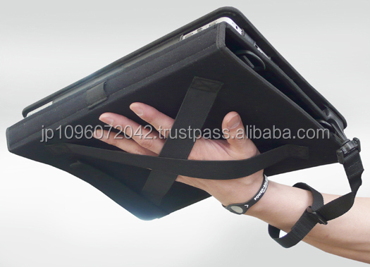 Reliable and Functional tablet case with grip handle for customer's order, small lot order available
