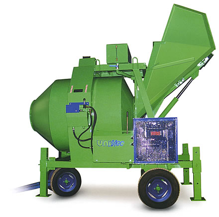 HYDRAULIC REVERSING MIXER LT 750 WITH DIESEL ENGINE - MADE IN ITALY
