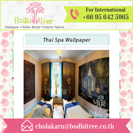 Superior Quality Thai Spa Wallpaper Available at Factory Price