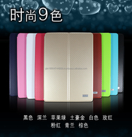 2015 New Kaku Arrival Folding Flip Leather Cover For IPAD AIR2 rotation Smart Stand Cover