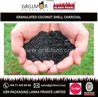Less Moisture Content of Granulated Coconut Charcoal for Pharmaceuticals Company