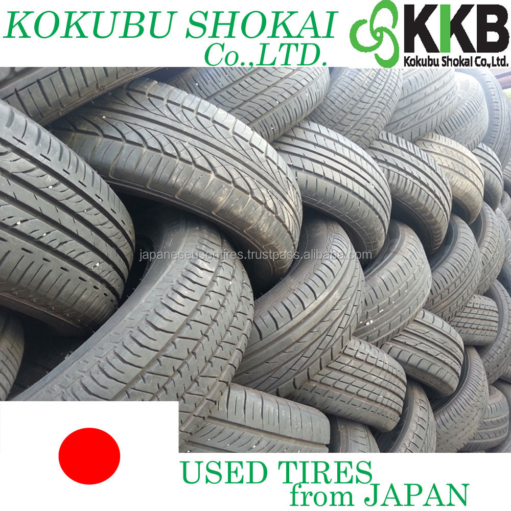 Japanese High Quality Premium used tires for auto mobiles, wholesale from Japan