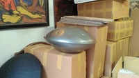 NEW Big Harmonic Handpan in D-Minor 9-notes +Bag steel handrum handrum hand pan