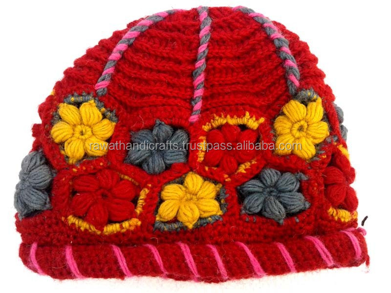 Newest Design Winter Lady Knitted Hat Woolen Hat Warm Wool 2014 Winter Hat Women