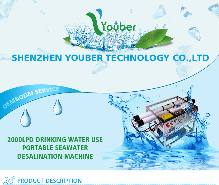 Sea water desalination machine, fresh water maker