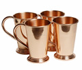 Large Capacity With Long Handled Pure Copper Moscow Mule Mugs