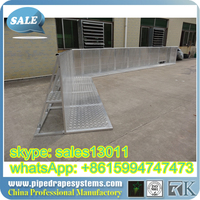 safety barrier fence for road construction