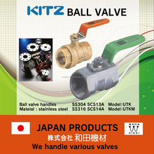 rubber gasket and Reliable tyco water pressure gauge KITZ BALL VALVE for industrial use
