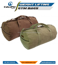 HEAVY DUTY CANVAS Gym Duffle bag